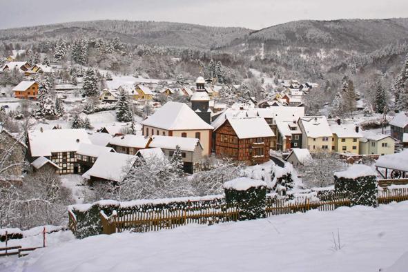 Albrechts im Winter